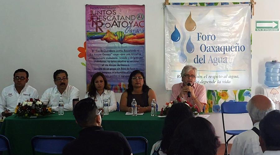 Legislación sobre aguas nacionales debe evitar la privatización: FOA | El Imparcial de Oaxaca