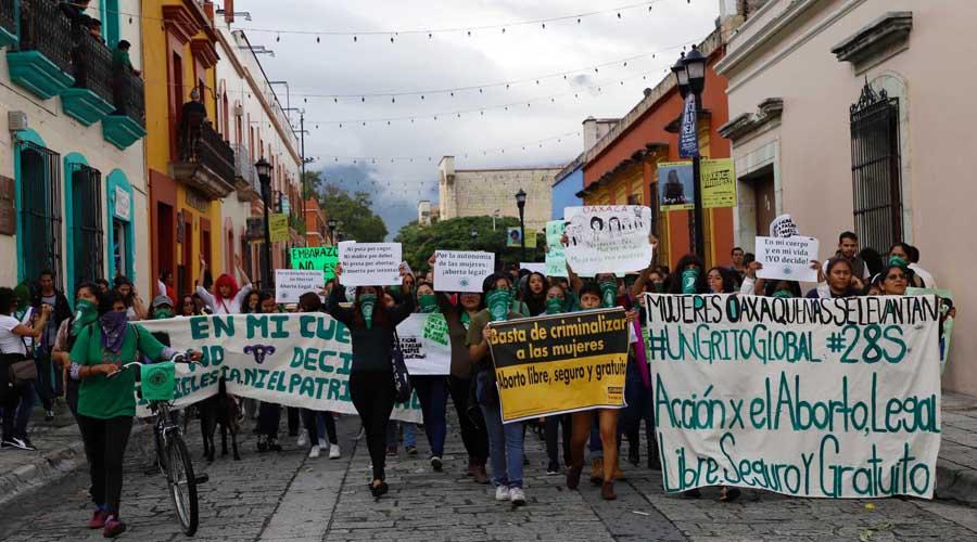 Mujeres piden despenalización del aborto en Oaxaca | El Imparcial de Oaxaca