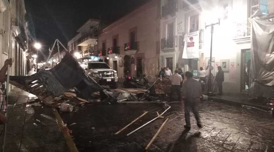 Por fin la Sección 22 libera la calle de Armenta y López   El Imparcial de Oaxaca