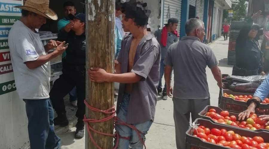 Expuso su vida  por un celular en la Central de Abasto | El Imparcial de Oaxaca