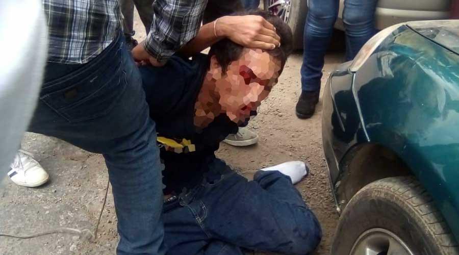 Lo tunden a golpes en periférico cerca de la Central de Abasto   El Imparcial de Oaxaca