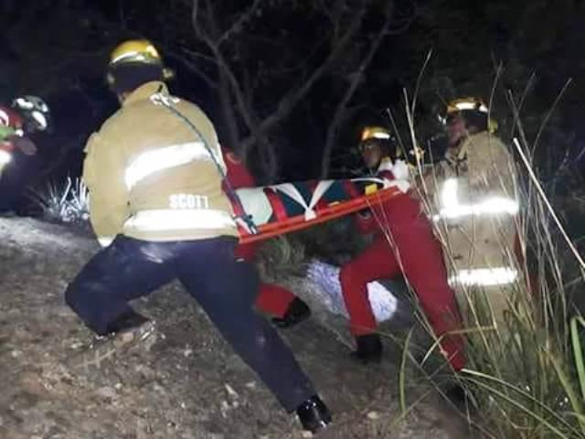 Joven cae a un barranco | El Imparcial de Oaxaca