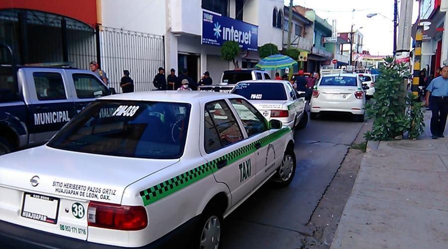 Se inconforman por instalación  de base de taxis en Huajuapan de León, Oaxaca | El Imparcial de Oaxaca