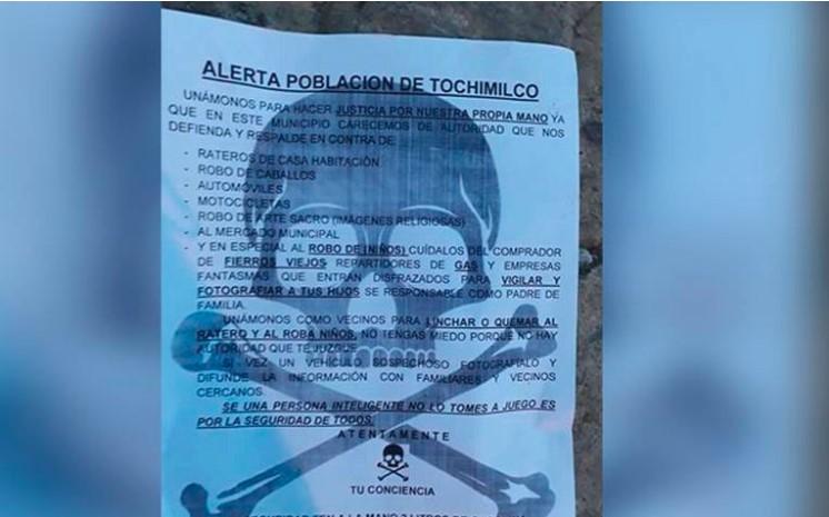 Regalan dos litros de gasolina para invitar a linchar a los delincuentes en Puebla | El Imparcial de Oaxaca