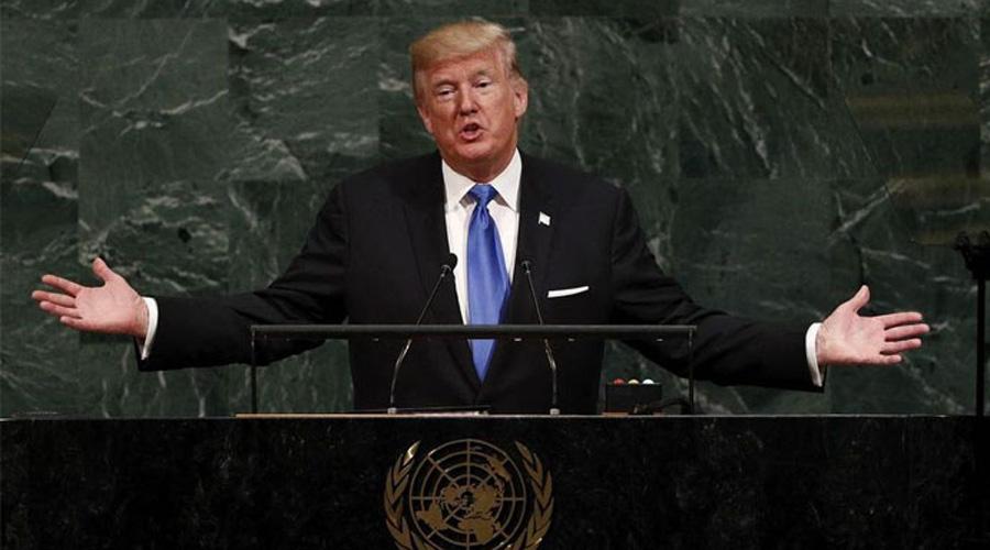 Donald Trump presumió de sí mismo en la ONU y solo provocó risas | El Imparcial de Oaxaca