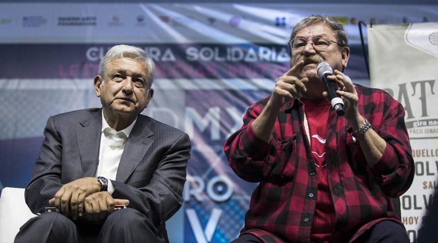 Paco Ignacio Taibo II acepta dirigir el FCE | El Imparcial de Oaxaca