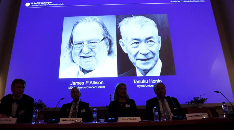 Los 'padres' de la inmunoterapia ganan el Nobel de Medicina 2018 | El Imparcial de Oaxaca