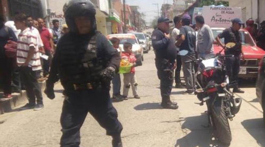 Chocan en zona Centro de Huajuapan de León | El Imparcial de Oaxaca