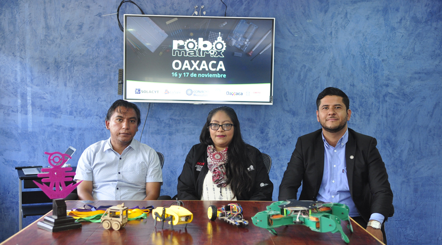 En Oaxaca, presentan convocatoria  para Robomatrix 2018 | El Imparcial de Oaxaca