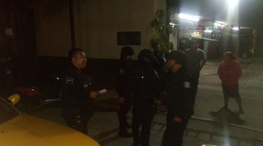 Aprendiz de ladrón capturado por taxistas en la calle de Fiallo | El Imparcial de Oaxaca
