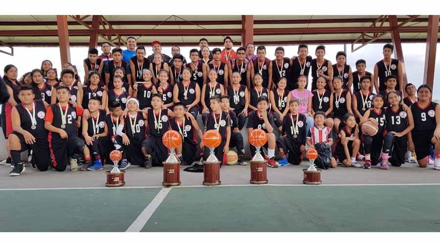 Gran participación en el basquetbol | El Imparcial de Oaxaca