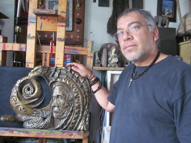 Mario Fernández,  pintor y muralista,  amigo de los mazatecos   El Imparcial de Oaxaca