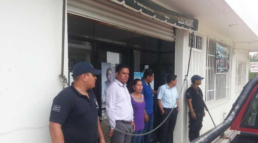 Habitantes de Cacahuatepec toman las oficinas de CFE   El Imparcial de Oaxaca