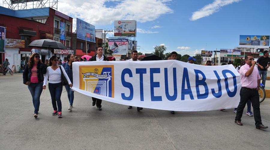 Paraliza STEUABJO actividades  en la Universidad por 12 horas | El Imparcial de Oaxaca