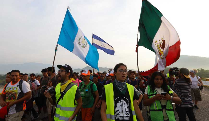 Iglesia pide no ver como amenaza a los migrantes   El Imparcial de Oaxaca