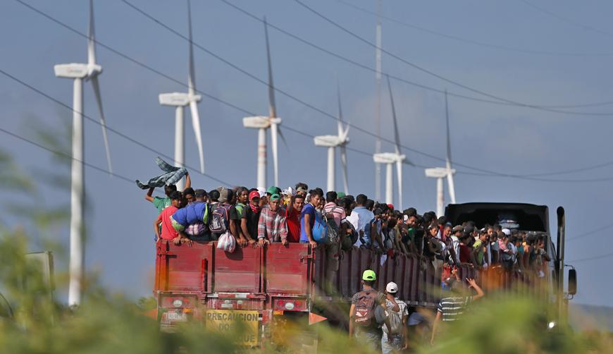Descansa caravana migrante en Juchitán, Oaxaca   El Imparcial de Oaxaca