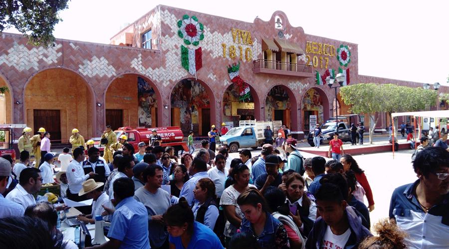 Nula respuesta para  reconstruir escuelas  dañadas por sismos   El Imparcial de Oaxaca