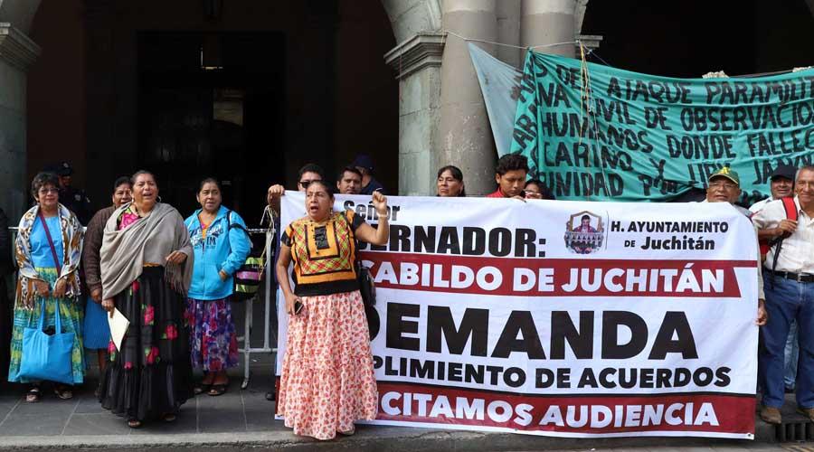 Demandan juchitecos, con protestas en la capital,  transparentar recursos | El Imparcial de Oaxaca