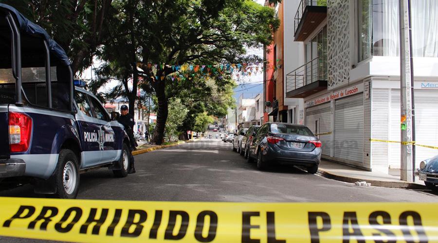 Acordonan calles y cierran comercios en la Reforma por averiguaciones de balacera | El Imparcial de Oaxaca