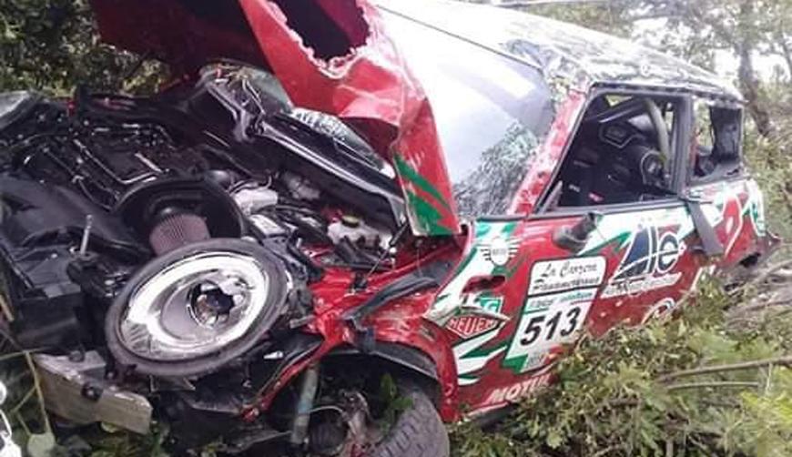 Accidente en el primer día de la Carrera Panamericana en Oaxaca | El Imparcial de Oaxaca