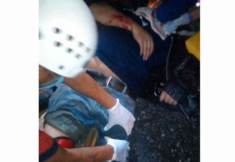 Atropellan a motociclista en Jalatlaco | El Imparcial de Oaxaca