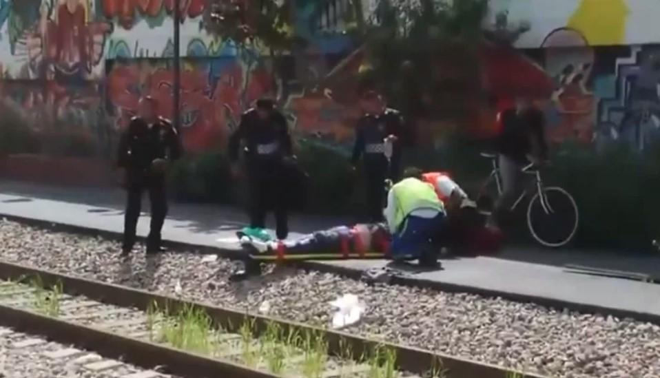 Hombre pierde una pierna por querer fotografíar un tren en la CDMX | El Imparcial de Oaxaca