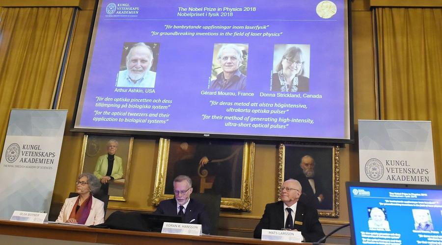 Otorgan Premio Nobel de Física a trabajos de avance sobre láser   El Imparcial de Oaxaca