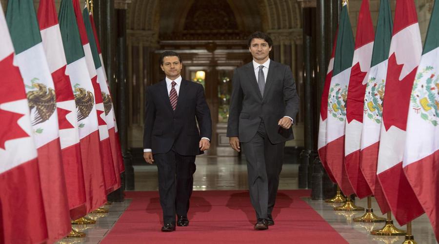 Peña, Trudeau y Trump elogian acuerdo comercial alcanzado entre EU, México y Canadá | El Imparcial de Oaxaca