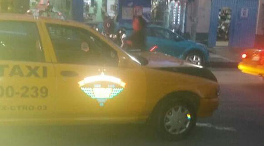 Choque entre taxi y auto particular deja dos lesionados en Oaxaca | El Imparcial de Oaxaca