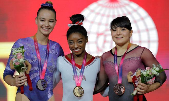 Alexa Moreno, primera mexicana en la historia en subir al podio en mundial de gimnasia | El Imparcial de Oaxaca