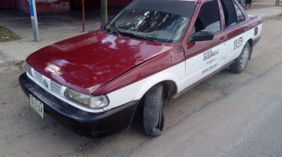 Denuncian aumento de hechos delictivos realizados por taxistas oaxaqueños | El Imparcial de Oaxaca