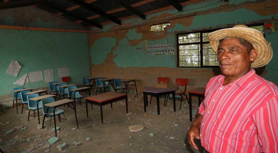 Denuncian fraude en reconstrucción de escuelas en el Istmo | El Imparcial de Oaxaca