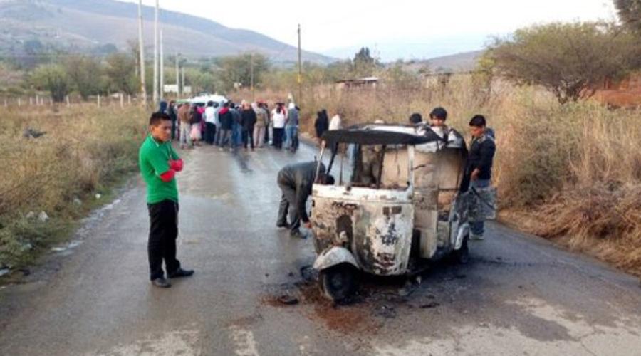Denuncian ola de violencia en Atzompa, pobladores acusan a mototaxistas | El Imparcial de Oaxaca