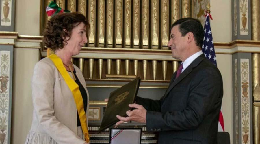 México entrega Orden del Águila Azteca a Roberta Jacobson | El Imparcial de Oaxaca