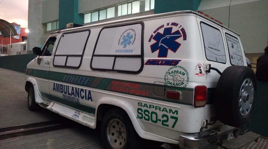 Sufre trabajador de Modatelas aparatosa caída en el centro de Oaxaca | El Imparcial de Oaxaca