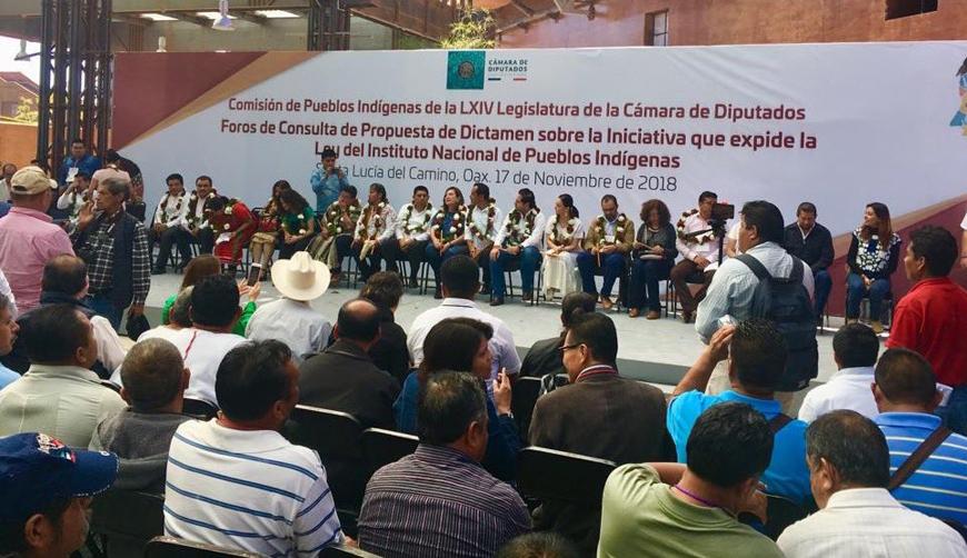Concluye consulta  por Ley del INPI en Oaxaca   El Imparcial de Oaxaca