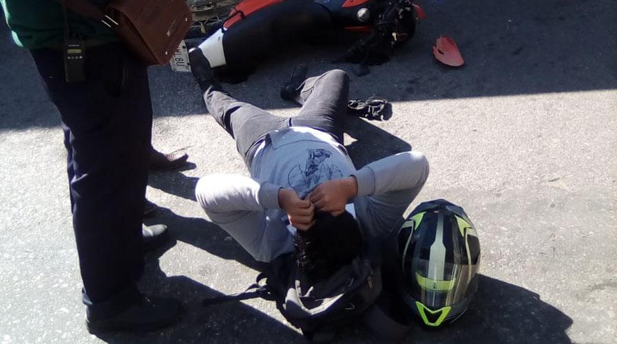 Urbano arrolla a motociclista en Trinidad de las Huertas | El Imparcial de Oaxaca