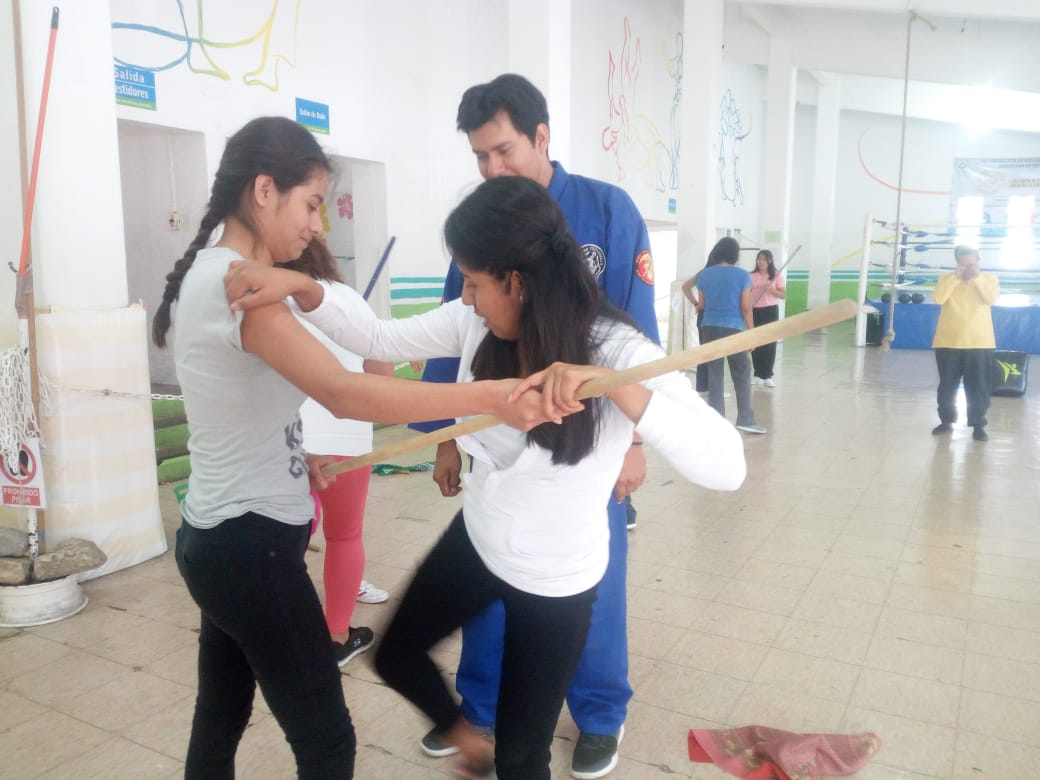 Concluye taller de arte marcial | El Imparcial de Oaxaca