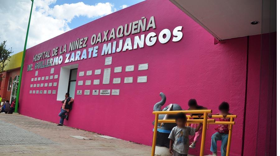 Reanudan actividades en Hospital de la Niñez Oaxaqueña | El Imparcial de Oaxaca