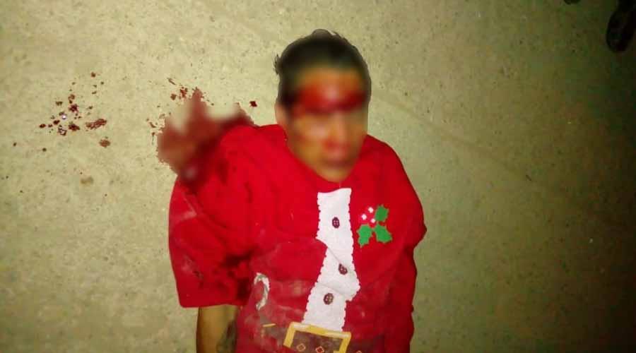 Vecinos golpean a ladrón de medidores en la colonia Linda Vista, Oaxaca | El Imparcial de Oaxaca