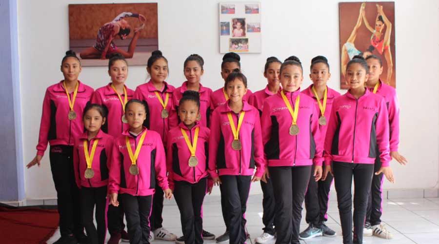 Gimnastas oaxaqueñas participan en Campeonato Nacional en Aguascalientes   El Imparcial de Oaxaca