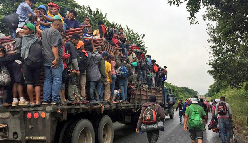 Genera caravana migrante crisis humanitaria   El Imparcial de Oaxaca