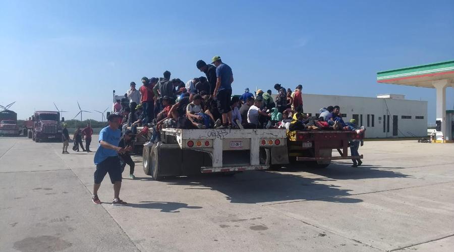Llega tercera caravana de migrantes a Matías Romero   El Imparcial de Oaxaca