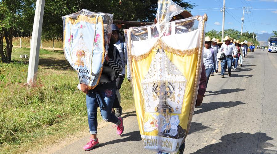Avanzan peregrinos hacia el santuario de Juquila | El Imparcial de Oaxaca