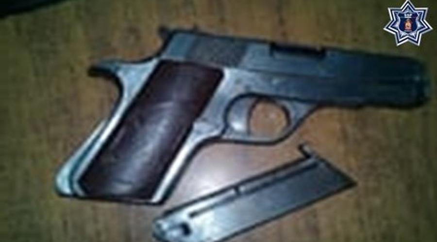 Aseguran a sujeto que portaba arma de fuego en San Miguel Soyaltepec | El Imparcial de Oaxaca