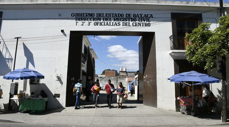 Reanudan servicio  en Registro Civil de  Armenta y López | El Imparcial de Oaxaca