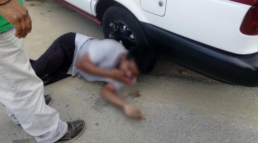 Golpean y detienen a taxista acusado de asaltos en Etla | El Imparcial de Oaxaca