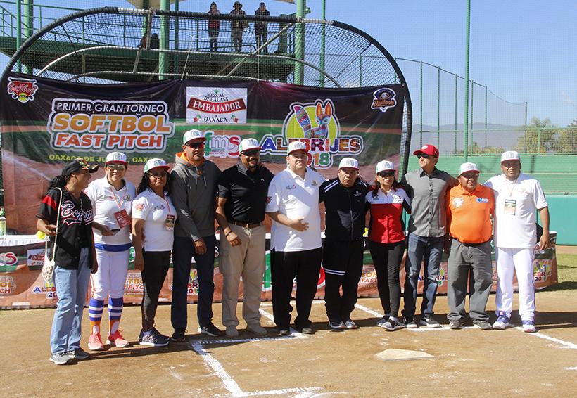Arrancó el Torneo Fast Pitch Alebrijes   El Imparcial de Oaxaca