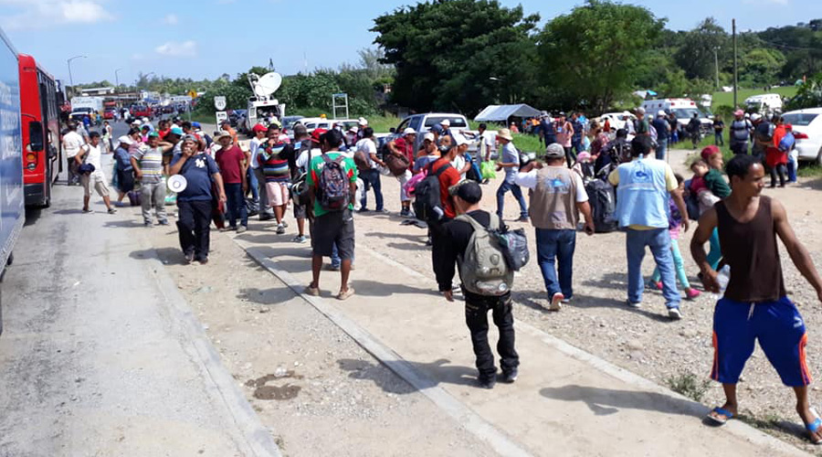Desacelera y padece caravana; pide ayuda a los mexicanos | El Imparcial de Oaxaca