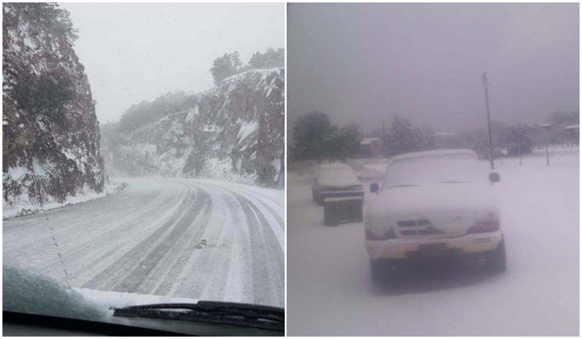 Sonora y Chihuahua se cubren de nieve ante bajas temperaturas | El Imparcial de Oaxaca